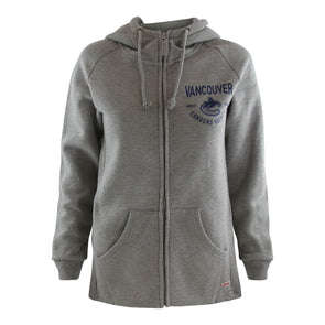 Vancouver Canucks Women's Sportiqe Orca Carlie Full Zip - Vanbase
