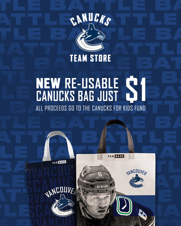 Vancouver Canucks Re-Usable Bag - Vanbase