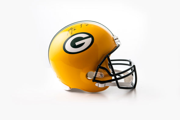 Aaron Rodgers Signed Green Bay Packers Helmet