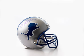Barry Sanders Signed Detroit Lions Helmet