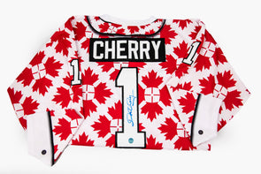Don Cherry Maple Leaf Jersey, Signed