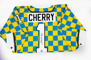 Don Cherry Checkered Jersey, Signed