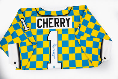 Don Cherry Checkered Suit Jersey Yellow
