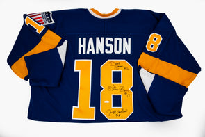 Hanson Brothers Jersey, Signed