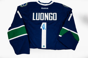 Luongo Home Jersey, Signed