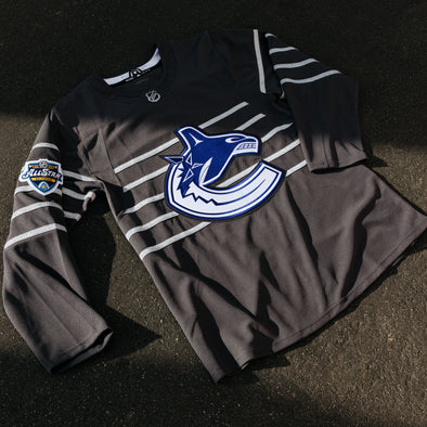 Vancouver Canucks Q. Hughes All Star Jersey (Storm Grey)