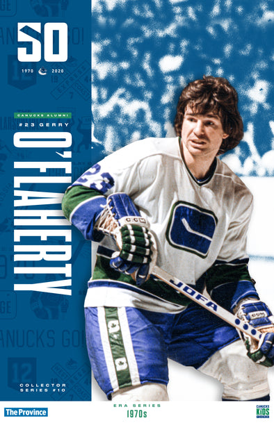 "Vancouver Canucks ""1970 Series"" Gerry O'Flaherty"
