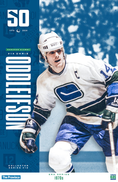 "Vancouver Canucks ""1970 Series"" Chris Oddleifson"