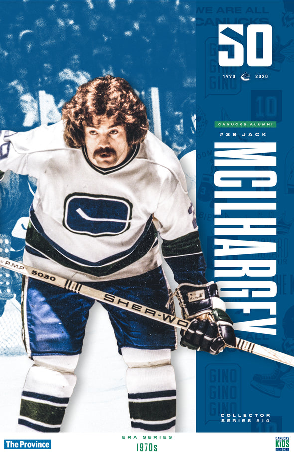 "Vancouver Canucks ""1970 Series"" Jack Mcilhargey"