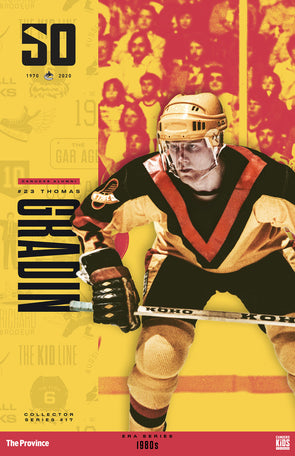 "Vancouver Canucks ""1980 Series"" Thomas Gradin"