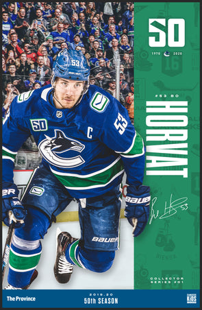 "Vancouver Canucks ""Bright Future Series"" Bo Horvat"