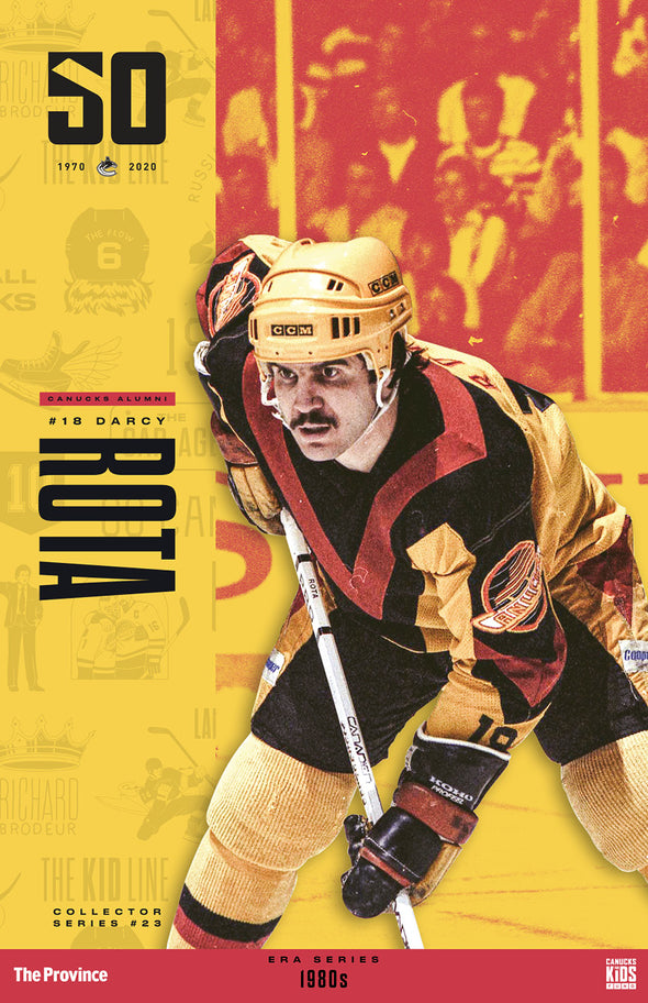 "Vancouver Canucks ""1980 Series"" Darcy Rota"