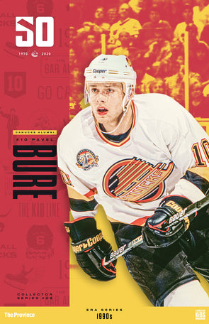 "Vancouver Canucks ""1990 Series"" Pavel Bure"