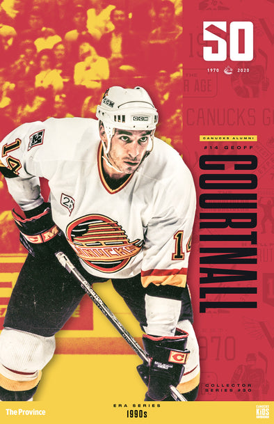 "Vancouver Canucks ""1990 Series""  Geoff Courtnall"