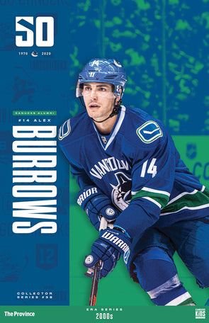 "Vancouver Canucks ""2000 Series"" Alex Burrows"