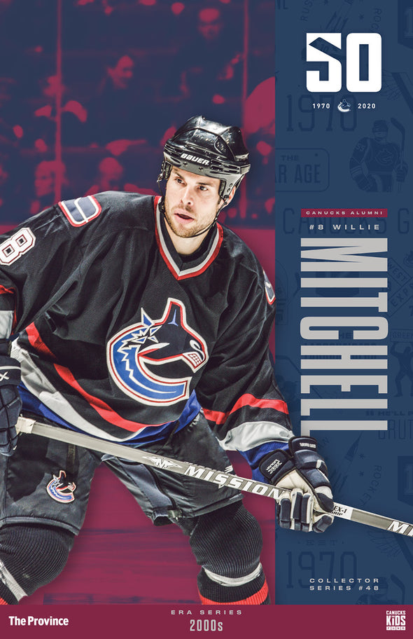 "Vancouver Canucks ""2000's"" Willie Mitchell"