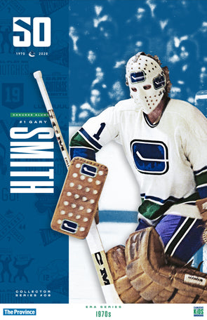 "Vancouver Canucks ""1970 Series"" Gary Smith"