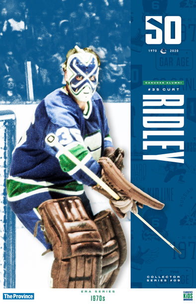"Vancouver Canucks ""1970 Series"" Curt Ridley"