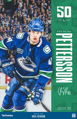 "Vancouver Canucks ""Bright Future Series"" Elias Pettersson"