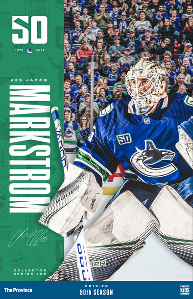 "Vancouver Canucks ""Bright Future Series"" Jacob Markstrom"
