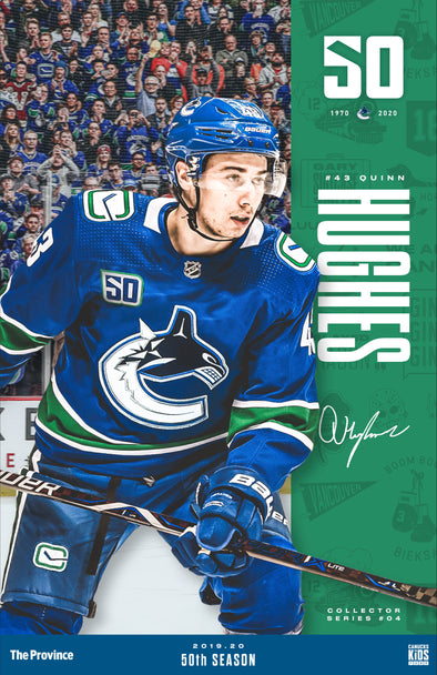 "Vancouver Canucks ""Bright Future Series"" Quinn Hughes"