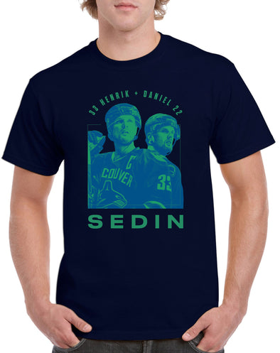 Daniel & Henrik Sedin Twin Men's T-Shirt