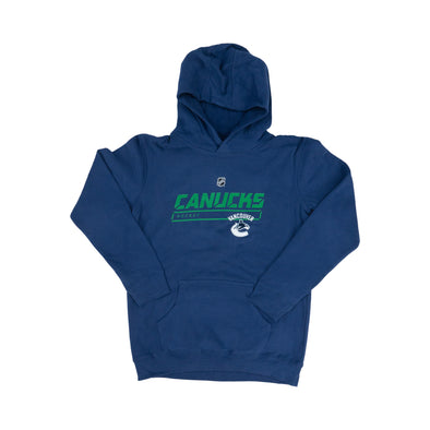 Vancouver Canucks Youth OS Rinkside Hoodie