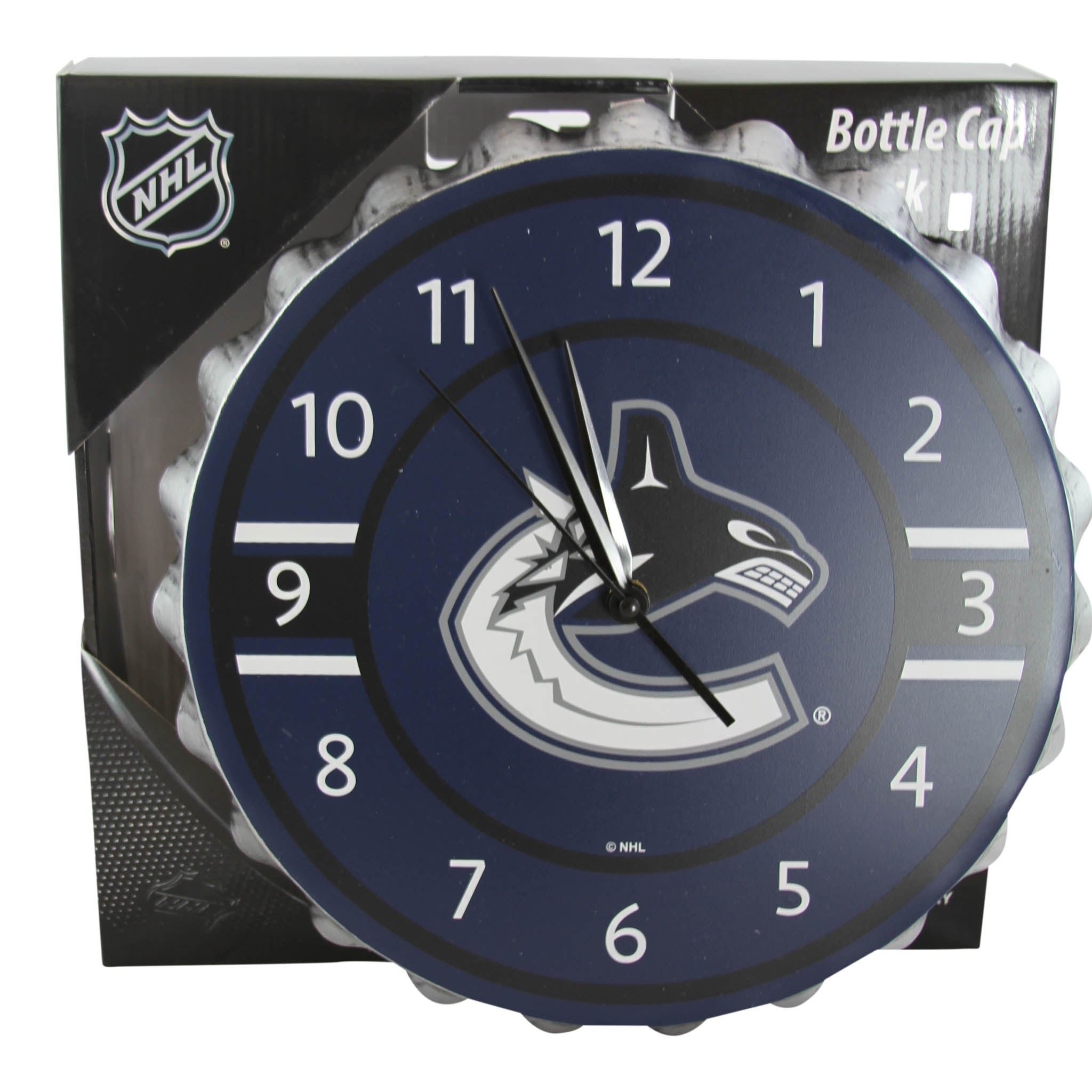 Vancouver Canucks Bottlecap Clock  dabf9ddcc
