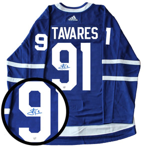 John Tavares Toronto Maple Leafs Autographed Adidas Pro Authentic Hockey Jersey
