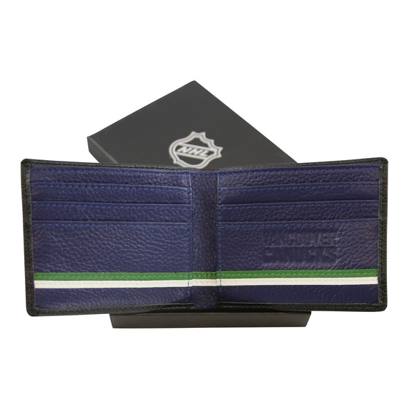 Vancouver Canucks Leather Wallet - Vanbase