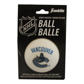 Vancouver Canucks Franklin Street Hockey Ball - Vanbase