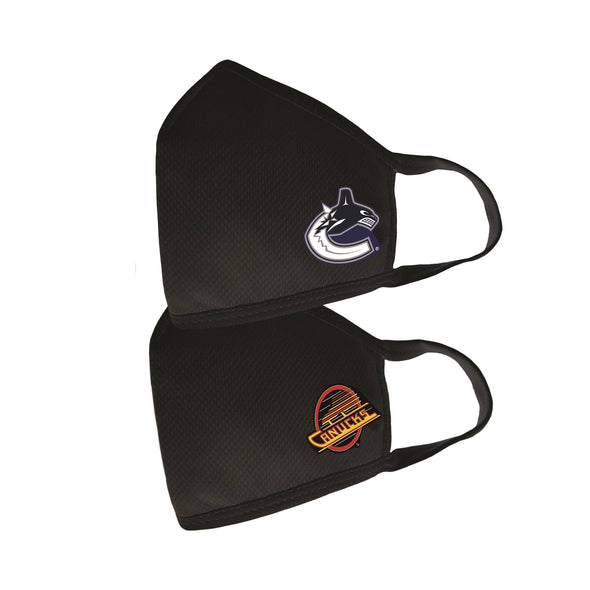 Vancouver Canucks Team Logo Face Masks 2 Pack