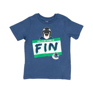 "Vancouver Canucks Kids ""Fin"" Shirt"