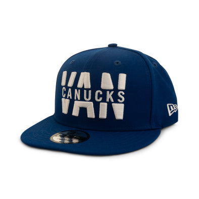 Vancouver Canucks New Era 'VAN' WRD 950 BL ORCA