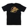 Vancouver Canucks Mens M&N Neon Light T-Shirt Skate