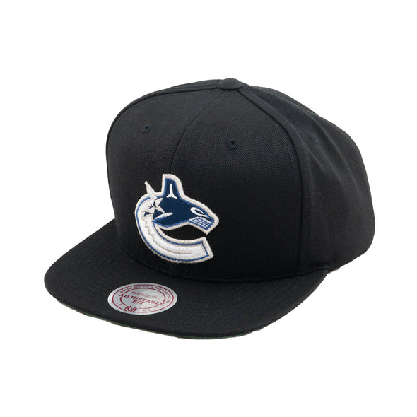 Vancouver Canucks M&N Orca Black Snapback