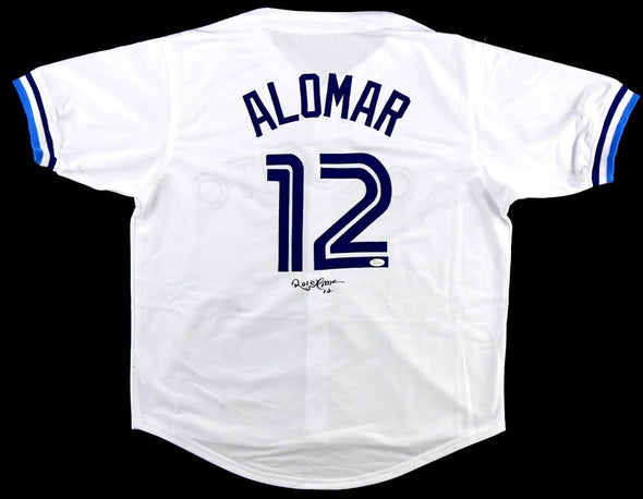 Roberto Alomar Signed White Jersey