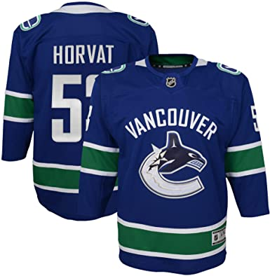 2018-2019 Vancouver Canucks Youth Home Name and Number Jersey