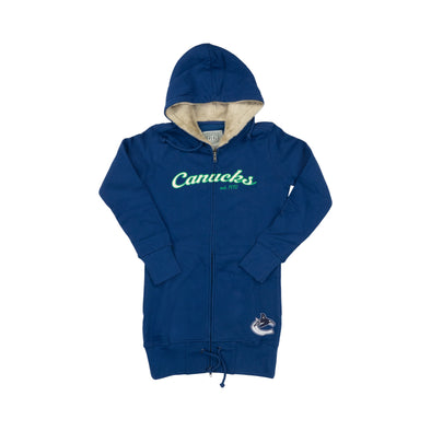 Vancouver Canucks Ladies Alina Long Zip Hoodie