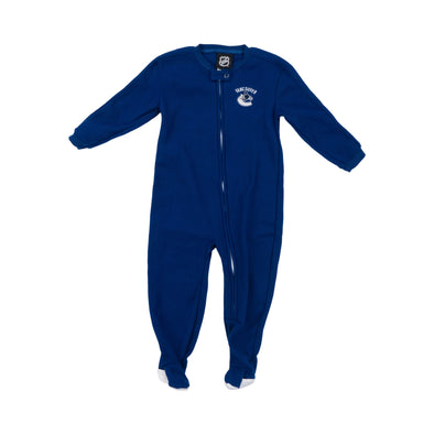 Vancouver Canucks Infant Fleece Onsie