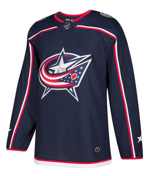 Adidas Pro Columbus Blue Jackets Home Jersey