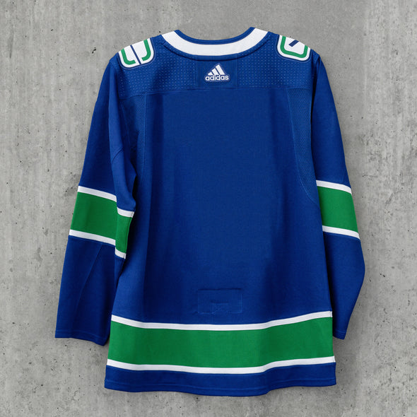 Vancouver Canucks Adidas Pro Blank Home Jersey
