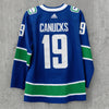 Vancouver Canucks Adidas Pro Name & Number Home Jersey