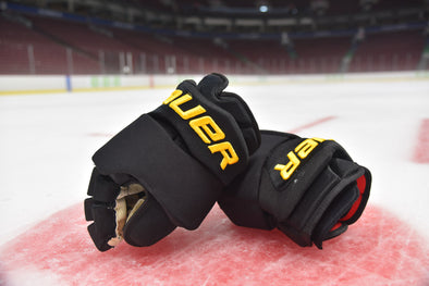 Tanev Bauer Black Skate Gloves