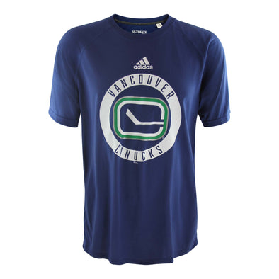 Vancouver Canucks Men's Adidas Practice Graphic Tee
