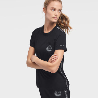Canucks Womens DKNY Donna Sporty T-Shirt