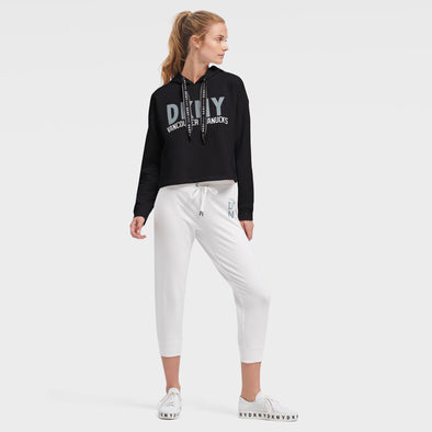 Canucks Womens DKNY Maddie Orca Hood (Black)