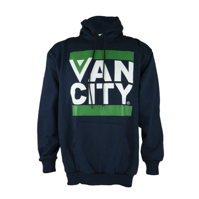 Vancouver Canucks Navy Vancity Flying V Hoodie - Vanbase