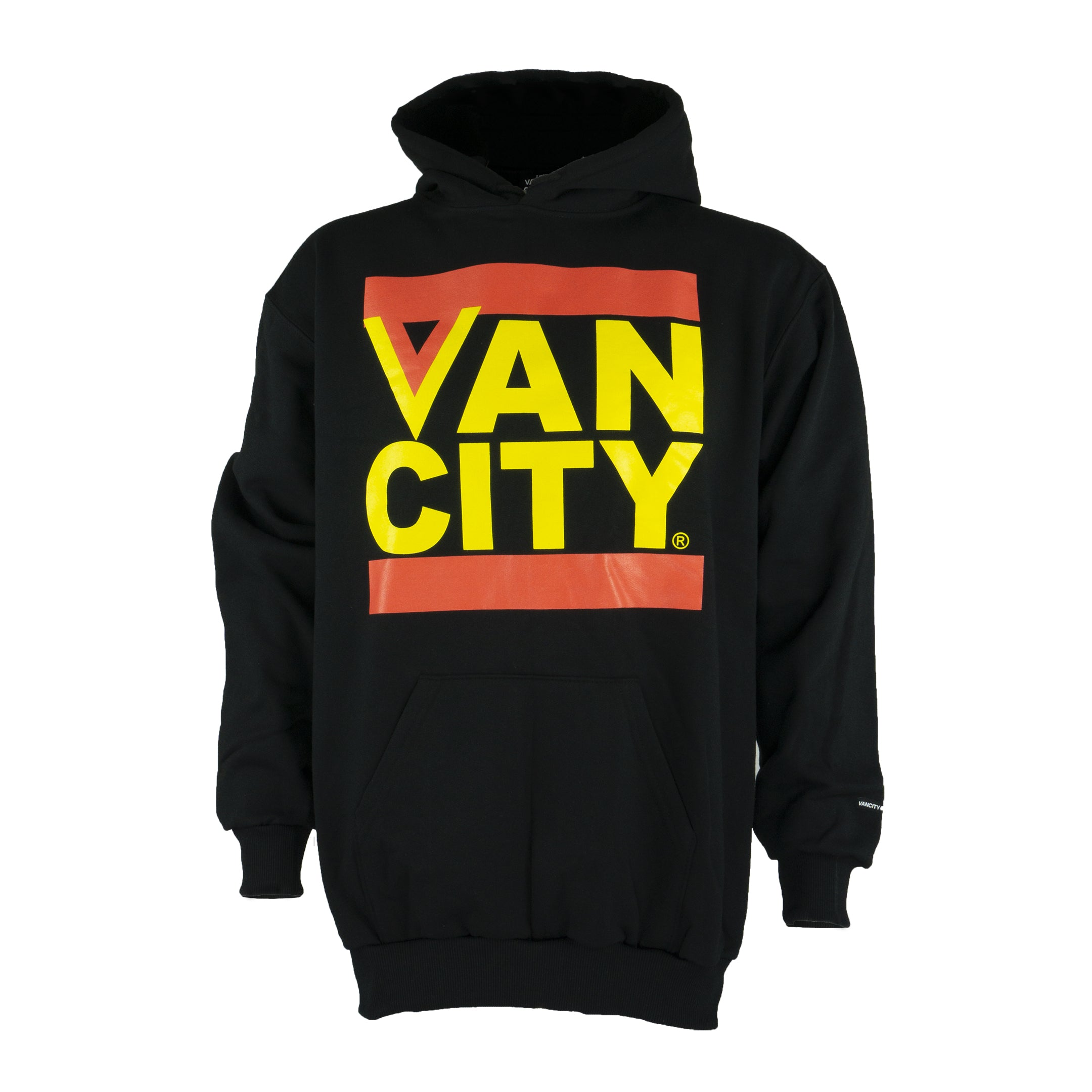 d1fa21f6655 Vancouver Canucks Vancity Retro Flying V Hoodie (Black)