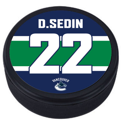 Legends Night: Daniel Sedin Puck